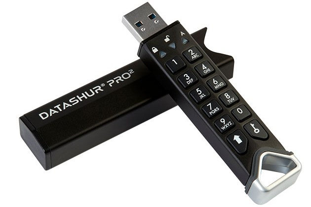 datAshur® PRO² 256-bit Encrypted USB 3.2 Flash Drive for $79