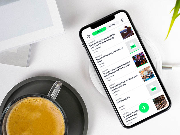 Elocance Audio Reading App: Lifetime Subscription for $34