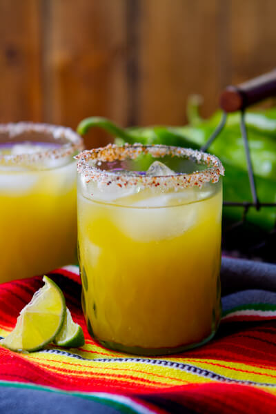 hatch chile margarita picture