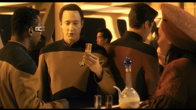 This Star Trek vodka boldly goes where blah blah you get it