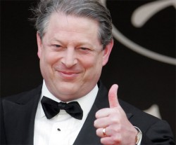 Thumbs have turned down for Al Gore's financial fortunes.
