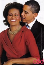 """""""Pssst, Michelle. If anyone asks, remember to say we met at Harvard."""""""