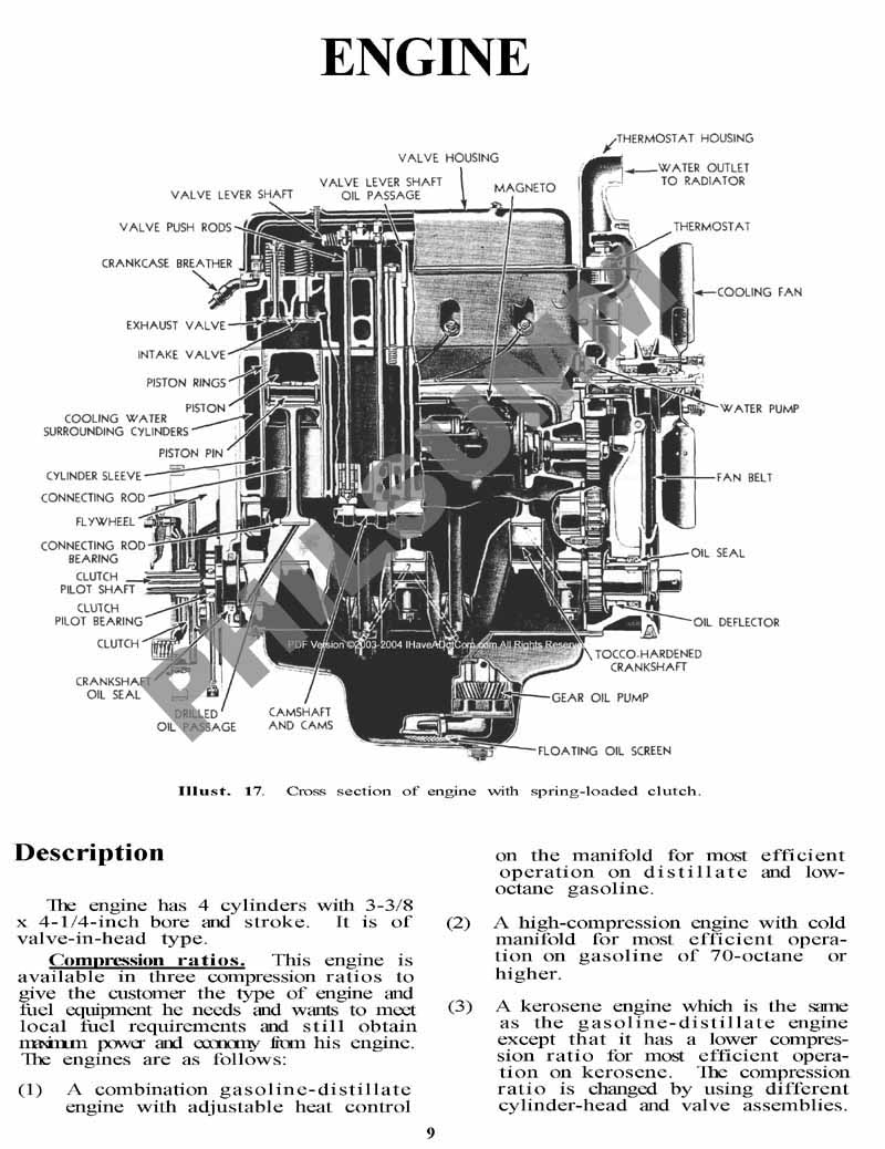 Farmall Super H Parts Diagram, Farmall, Free Engine Image