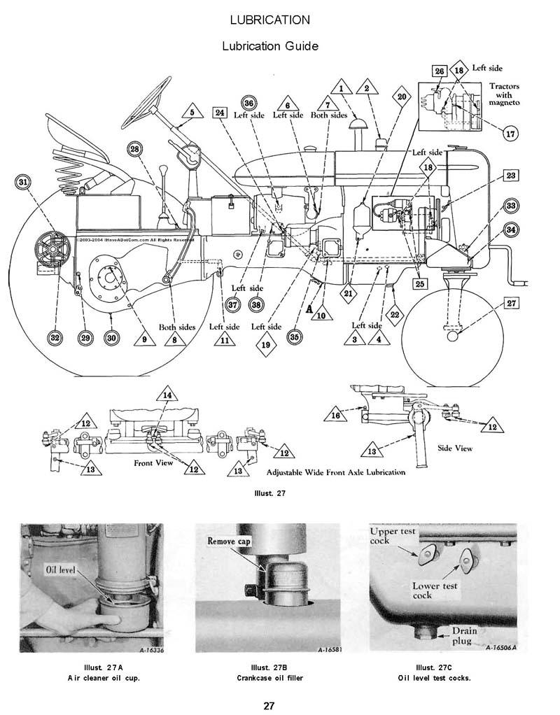 Farmall M 1951 Wiring Diagram