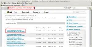 Downloading AVG Anti-Virus For Linux