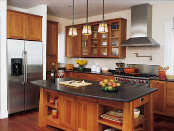 Home Decor Arts & Crafts Style Adapted To A Modern Kitchen