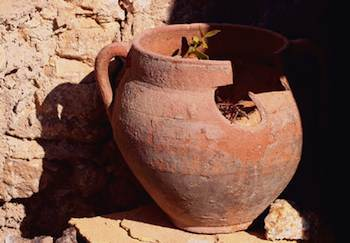 Stitch in Time Can Save Your Cracked Terra Cotta Pots  iHaveNetcom