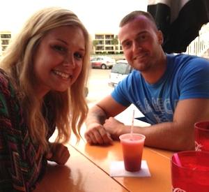 Courtney with boyfriend