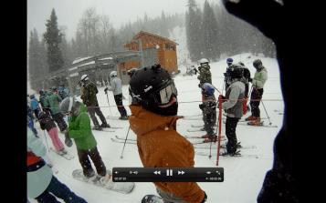 Snowboarding!