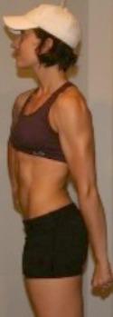 woman colitis bodybuilder