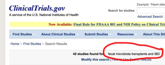 clinical-trials-FMT-and-IBD
