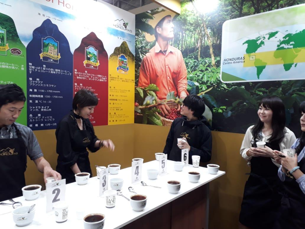 Café de Honduras presente en SCAJ 2018