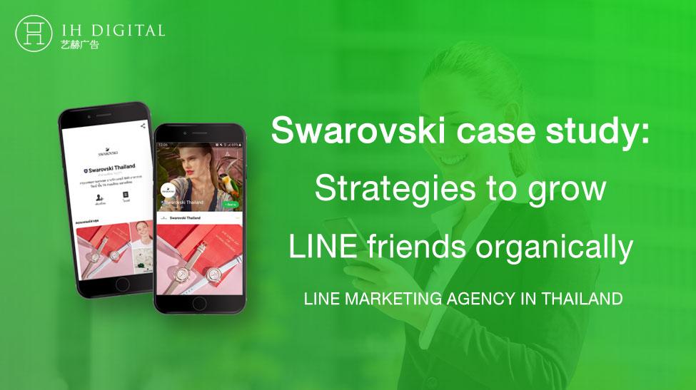 Swarovski-case-study-Strategies-to-grow-LINE-friends-organically