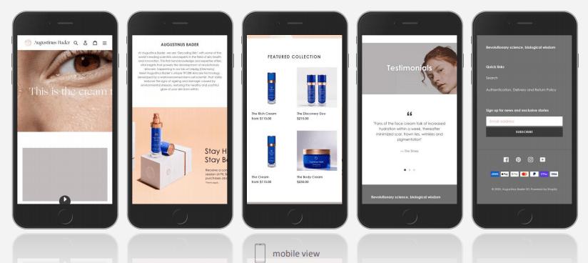1. สร้างเว็บไซต์ร้านค้า e-commerce ด้วย Shopify