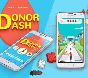 "Singapore Red Cross takes their cause to a new light by spreading blood donation awareness through mobile app ""Donor Dash"", as a content marketing strategy."
