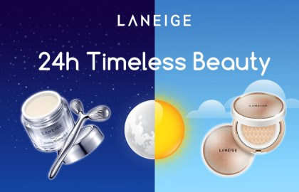 Digital Marketing - LANEIGE Timeless Beauty - Facebook App