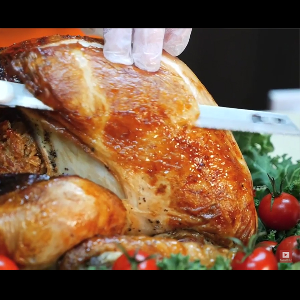 Recipe Video for Panasonic Roast Turkey - Creative Services