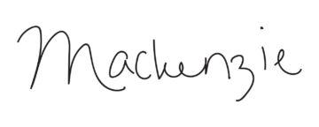 mackenzie signature