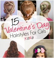 adorable valentine's day hairstyles