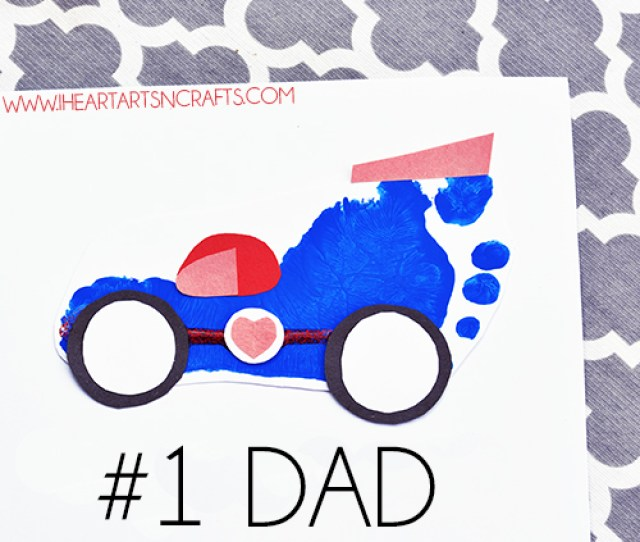 15 Kid Made Fathers Day Crafts