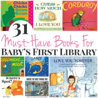 31 Must-Have Books For Baby's First Library - I Heart Arts ...