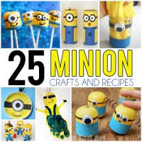 25 Minion Crafts and Recipes For Kids - I Heart Arts n Crafts