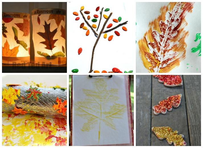 18 Fall Leaf Crafts For Kids I Heart Arts N Crafts