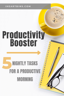 Productivity Booster Tasks