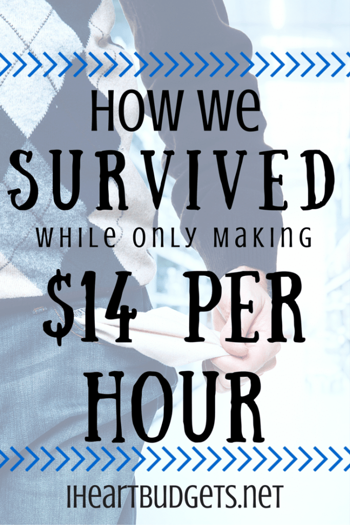Survive On 14 Dollars Per Hour