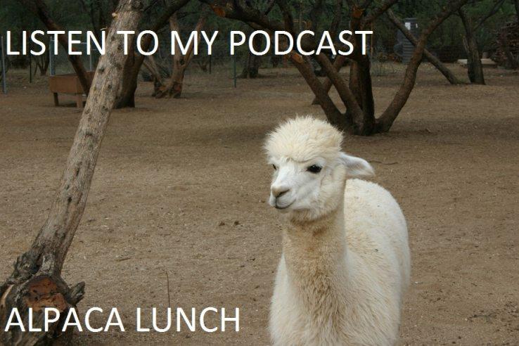 Postcast Alpaca