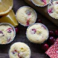 Cranberry Orange Mini Muffins