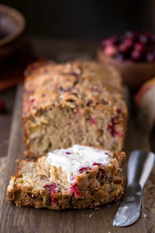 Cranberry Apple Bread Recipe