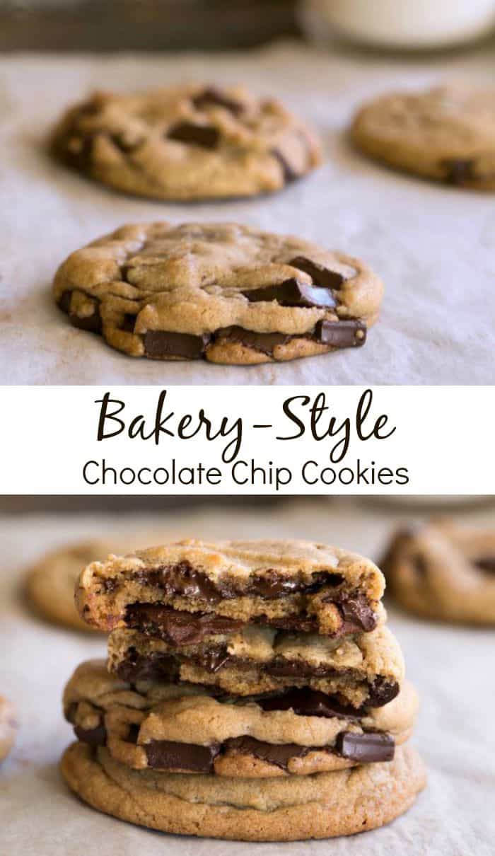 Bakery-Style Chocolate Chip Cookie Recipe