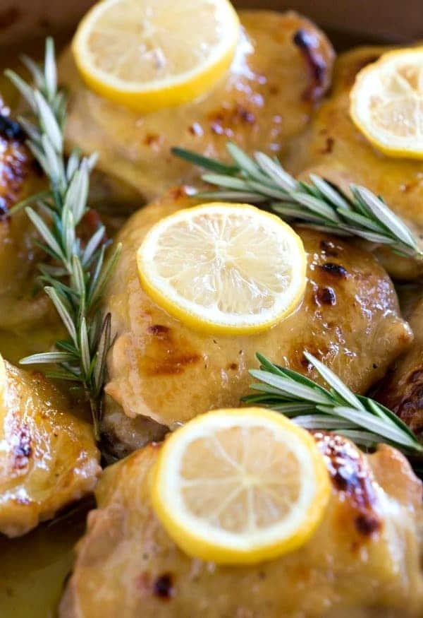 Baked Lemon Honey Mustard Chicken