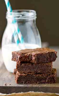 Better Than Box Mix Brownies