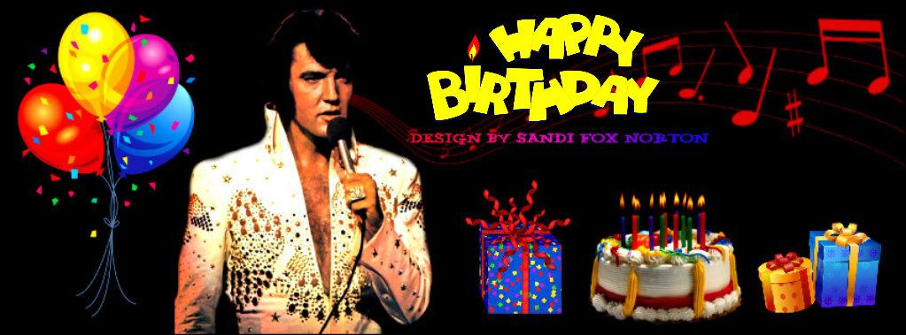 Elvis Presley Virtual Birthday Cards IHeartElvis Net
