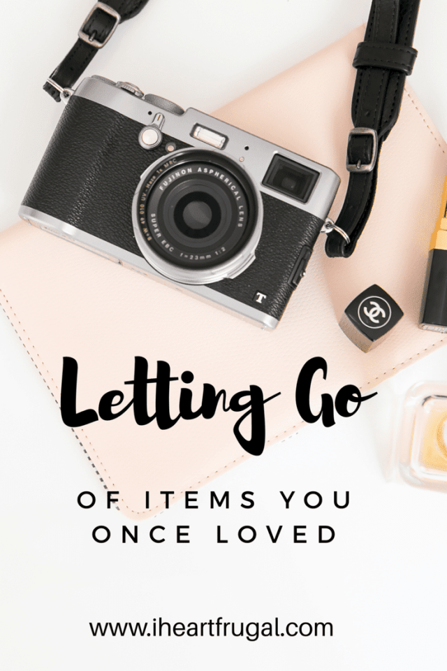 Letting Go of Items Once Loved