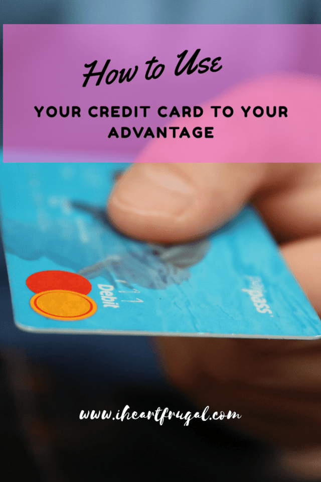 Learn how to use your credit card to your advantage and save money while earning points!