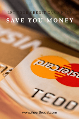 Learn how to save using your credit card.