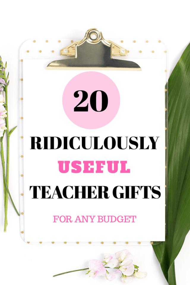 Teacher gift roundup