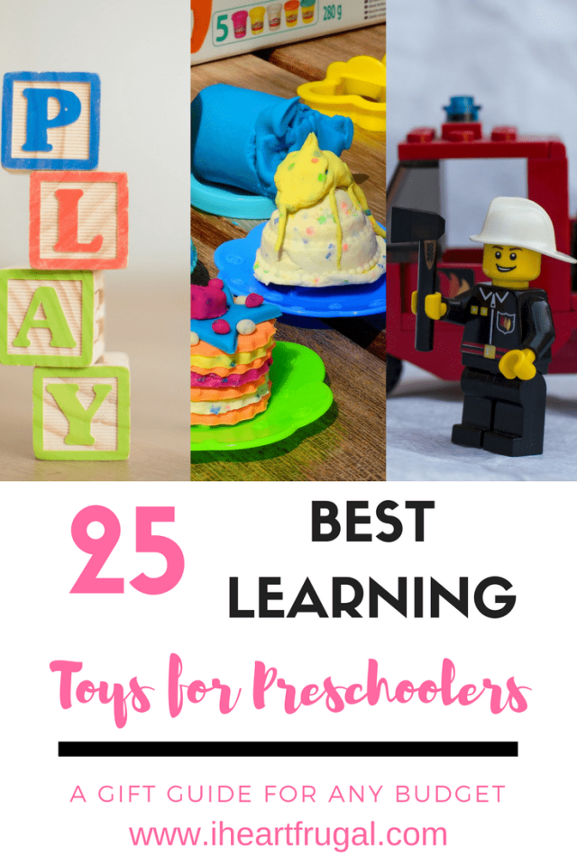 25 Best Learning Toys for Preschoolers