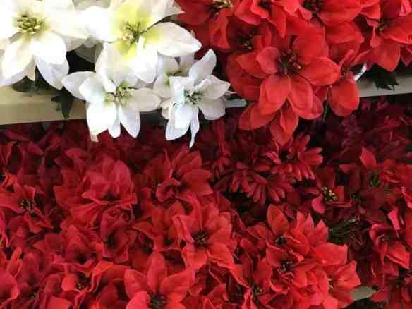 Dollar Store Christmas Decorating Ideas - Flowers