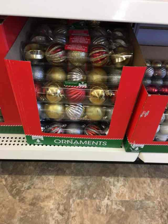 Dollar Store Christmas Decorating Ideas- Christmas Tree Ornaments