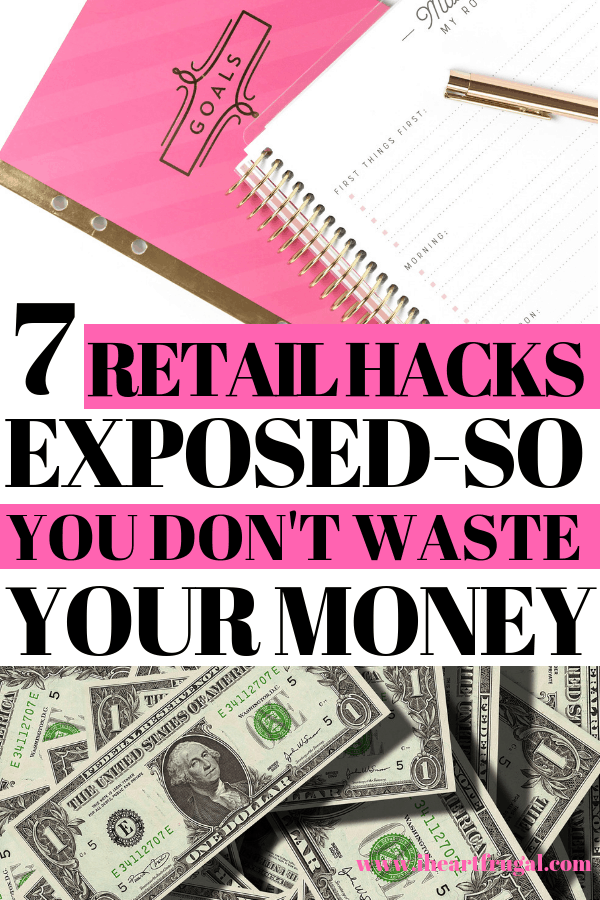 7 Retail Hacks Exposed and How You Can Avoid Them #shopping #savemoney #personalfinance