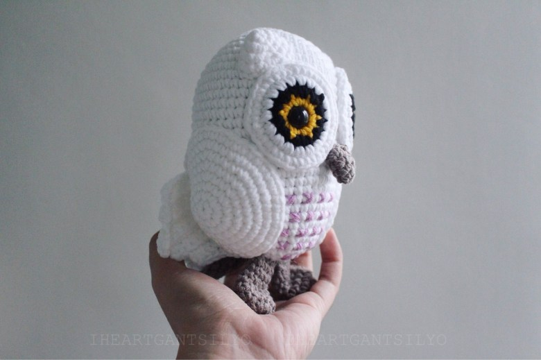 Snowy Baby Owl Amigurumi Pattern
