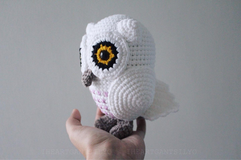 Vintage Crochet Snowy Owl Pattern 13 PDF Instant Digital | Etsy | 958x1440