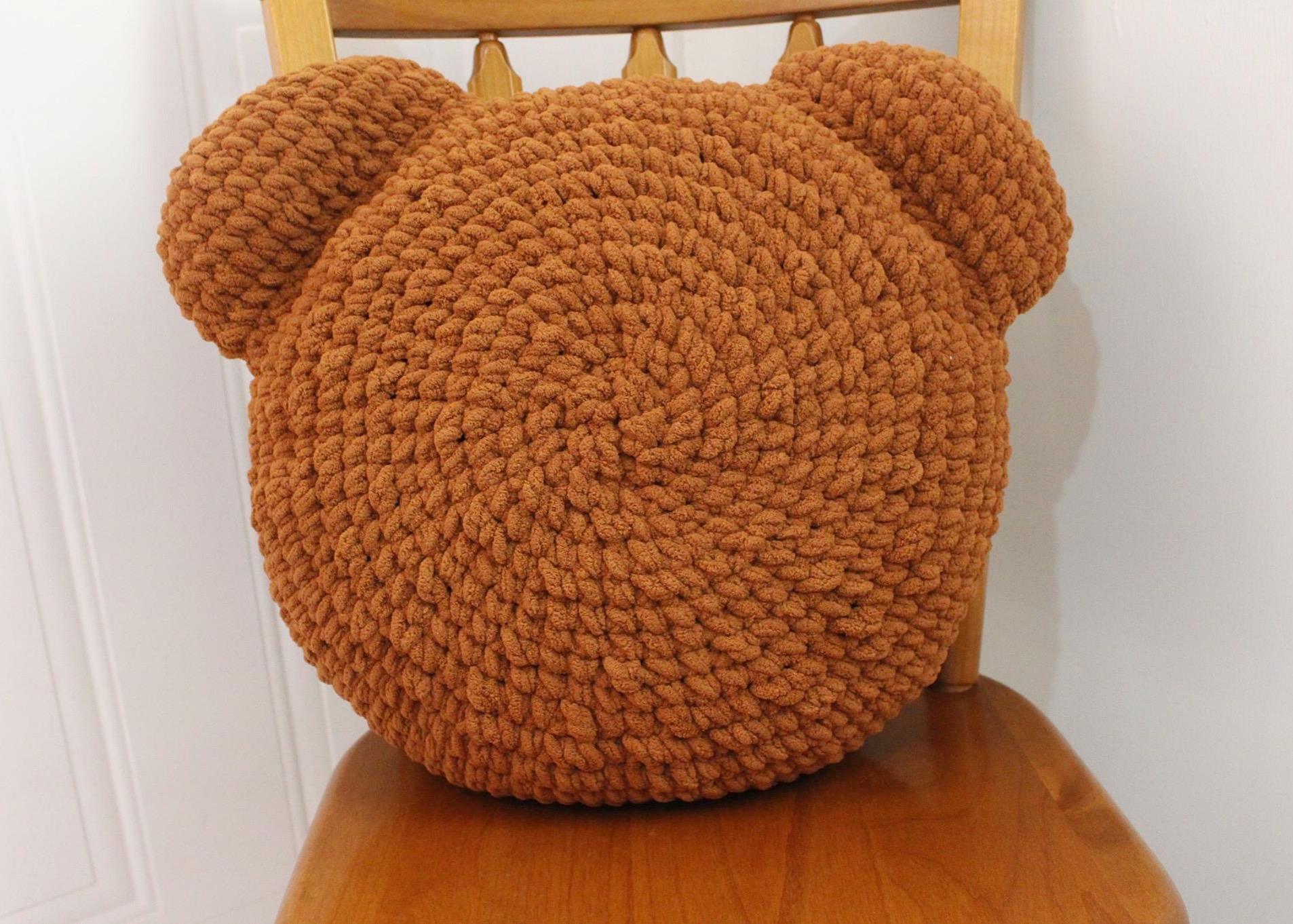 Crochet Teddy Bear Pillow (With images) | Crochet teddy bear, Crochet teddy,  Bear pillow | 1362x1906