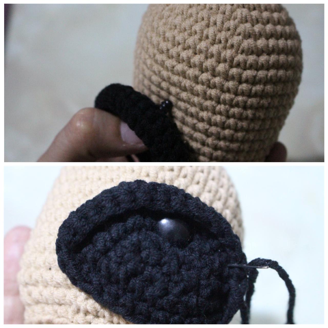 Cute Crochet Pug Dog - Free Pattern - DIY 4 EVER   1280x1280