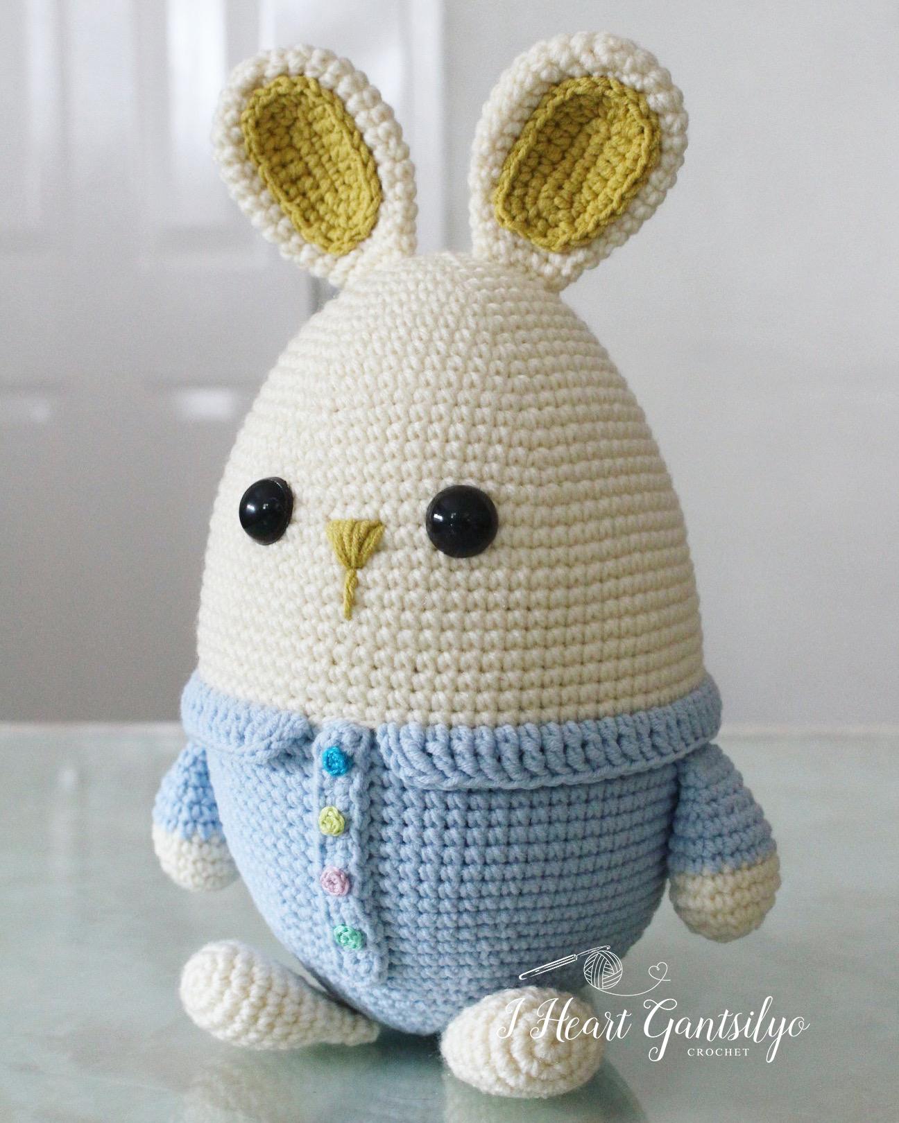Pretty Bunny amigurumi in pink dress | Crochet rabbit, Crochet pig ... | 1620x1296