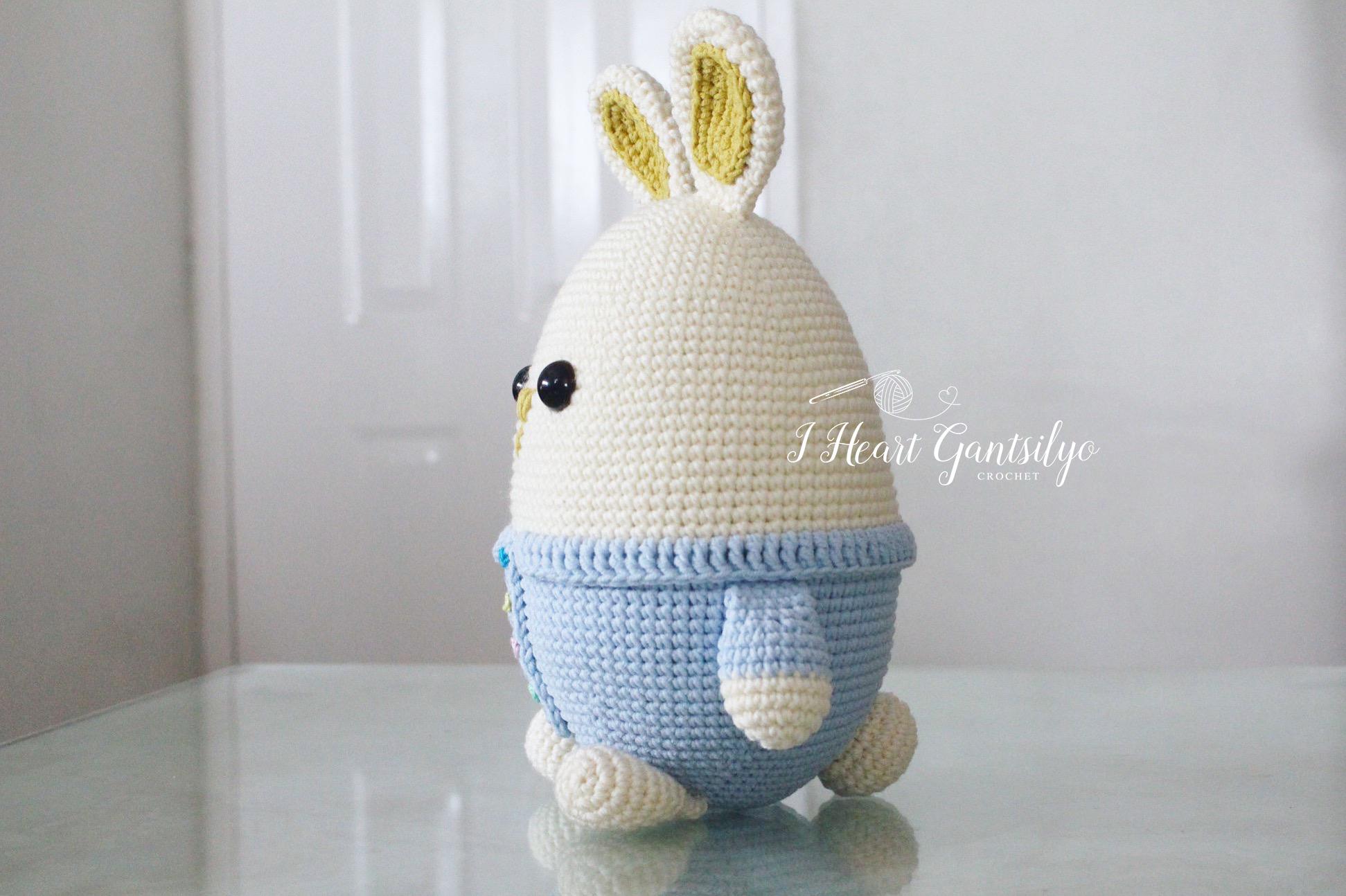 Crochet Eggster Bunny | I Heart Gantsilyo